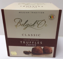 Belgid'Or Belgian Cocoa Dusted Coffee Truffles 200g